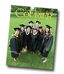 courier cover art for the summer 2011 issue
