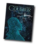 courier cover art for the winter 2011 issue