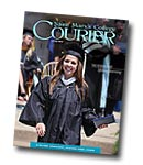 courier cover art for the summer 2012 issue