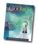 courier cover art for the winter 2012 issue