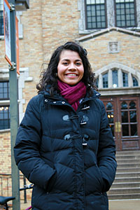 Silvia Cuevas '13 will work as a business analyst for Target.