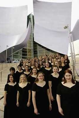 Women's Choir at Disney Hall