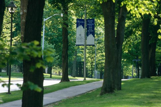 """The Avenue"" at Saint Mary's College"