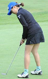 Rachel Kim matched her career-low with an 86.