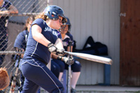 Ashley Peterson drives in the winning run in a 4-3 win over Alma.