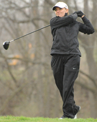 Paige Pollak led the Belles with an 84 on Wednesday.