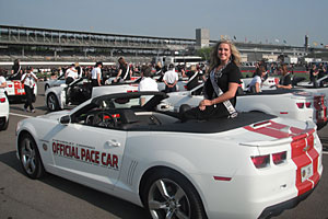 This year, Katie was chosen as one of 33 princesses for the Indianapolis 500 race.