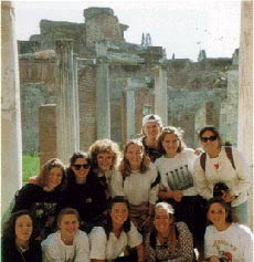 Participants in the Saint Mary's College Rome Program