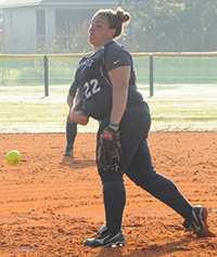 Callie Selner threw a one-hit shutout with 13 strikeouts.