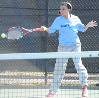 Kayle Sexton picked up doubles and singles wins against Adrian.