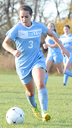 Lindsay Rzepecki scored in the 14th minute for the Belles.