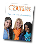 courier cover art for the summer 2008 issue