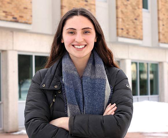 Gabi Weldy, class of 2018