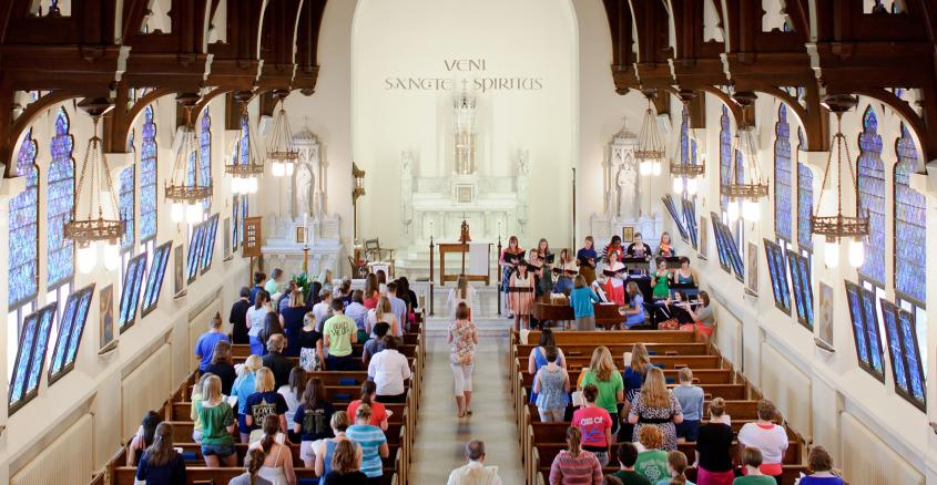 Wedding at Holy Spirit Chapel