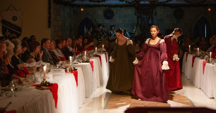 Performers at Madrigal Dinner