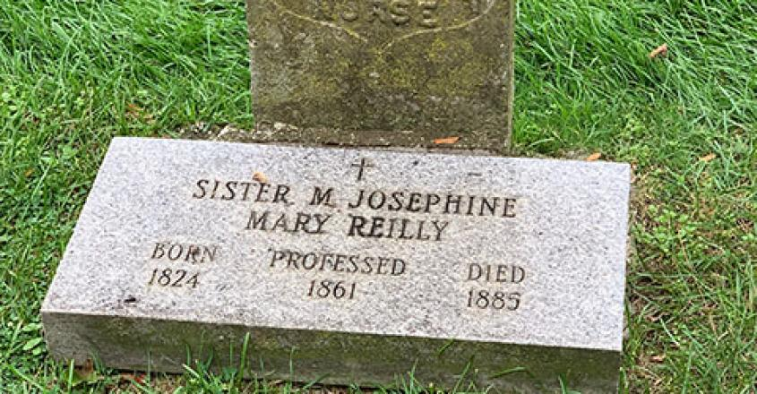 Grave of Sister M. Josephine Mary Reilly