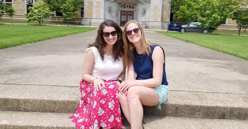 Jillian Marie Fata and Lauren Marie Bruner