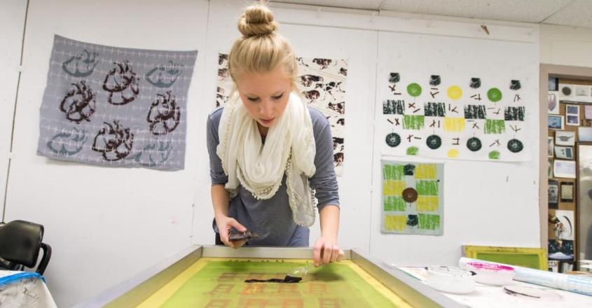 Silkscreening – Saint Mary's College, Notre Dame, IN